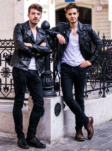 Beike Fashion timeless biker jacket look for guys zanimljiv stil s