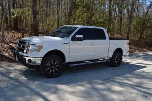 Chrome Wheels On White Truck White Truck Black Wheels Ford F150 Forum Community Of