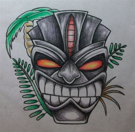 tiki head tattoo designs 50 best images about tiki masks on clay masks