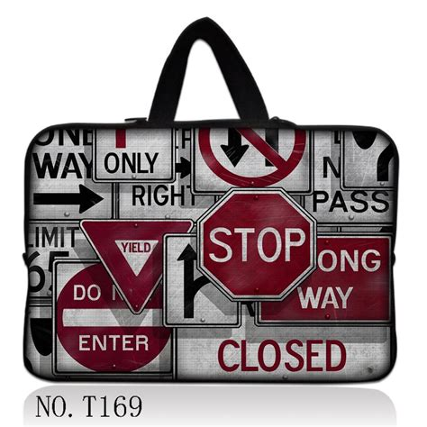 Softcase Notebook 10 Yellow Sign Traffic Sign 17 Quot Laptop Sleeve Bag Soft Carry For 17