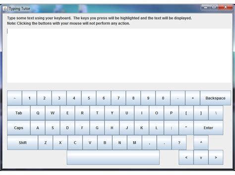 java tutorial keyboard input java swing virtual keyboard on jframe stack overflow