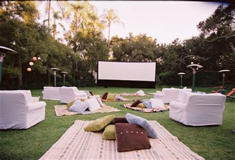 backyard movie ideas outdoor party idea movie night