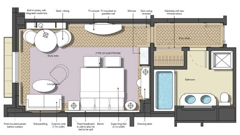 hotel room floor plan design sydney luxury deluxe hotel room the langham sydney