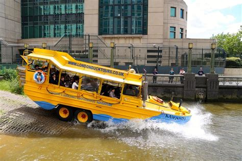 duck boat tour driver london duck tours exciting hibious tours of london
