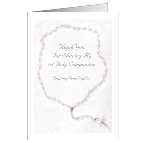 confirmation thank you card template communion thank you cards communion thank you