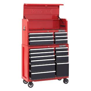 craftsman 41 6 drawer soft close rolling tool cabinet black craftsman 41 quot 6 drawer soft close top chest red black