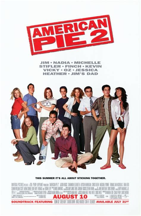 film comedy american american pie 2 movie posters from movie poster shop