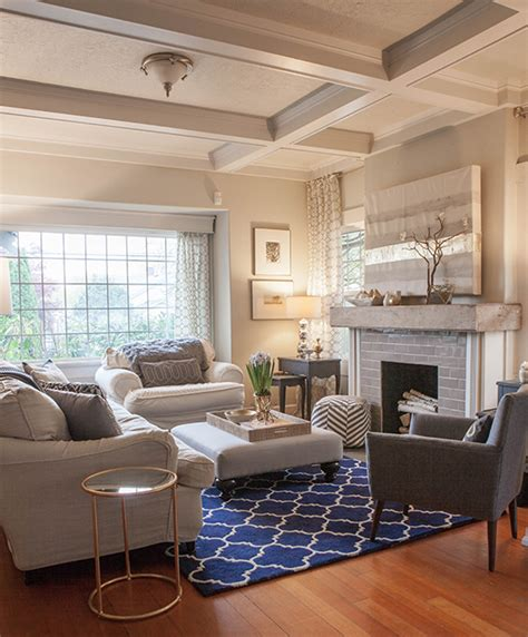 home   living room  navy  gold lia griffith