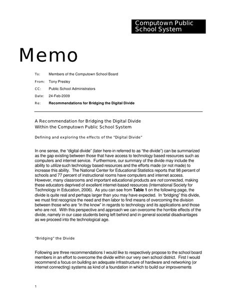 memo writing questions sle memorandum