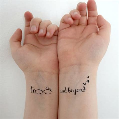 to infinity and beyond couple tattoo top 100 disney ideas that evoke nostalgia