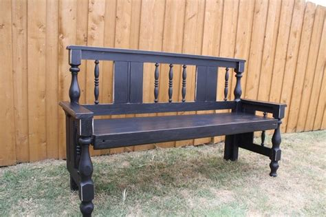 bench made from old bed frame 46 best images about benches out of old headboards on