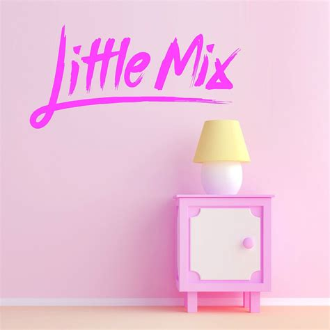 Kitchen Designs Gold Coast by Little Mix Logo Wall Sticker