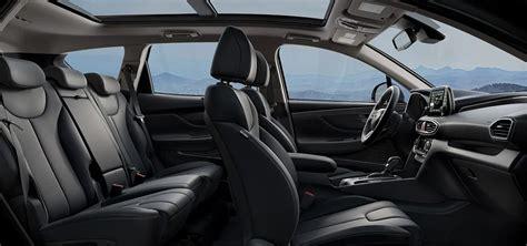 2019 Hyundai Santa Fe Interior by 2019 Hyundai Santa Fe Color Options