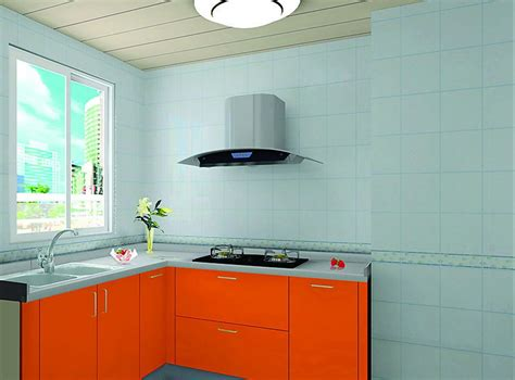 light blue kitchen walls orange ambry light blue wall in the kitchen 3d house