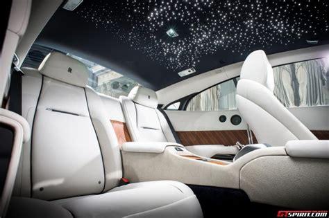 Rolls Royce Wraith Interior Lights