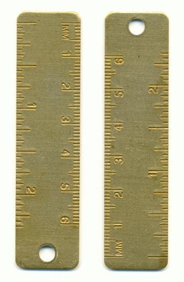 34 Ruler Bracelet From Elsewares by 3 By 3 4 Ruler Pendant Jan S Jewelry Supplies