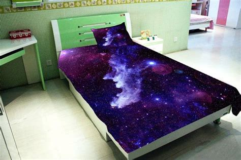 galaxy bedroom furniture galaxy bedding set two sides printing galaxy twin by
