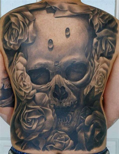 sick skull tattoo designs 119 badass skull tattoos and designs