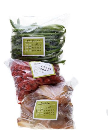 Freezer Bag Stickers