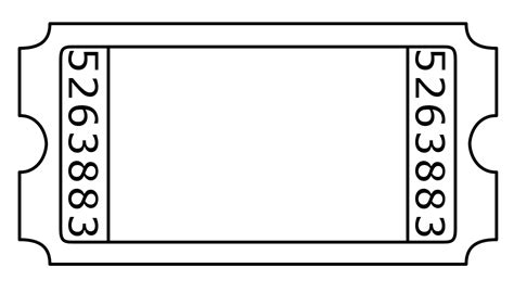 Blank Admission Ticket By Janettebernard On Deviantart Blank Ticket Template