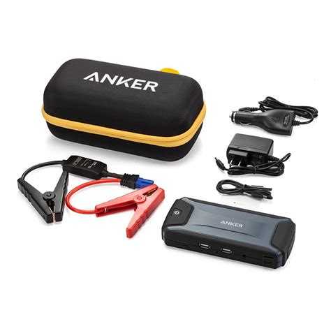 anker jump starter anker compact car jump starter and portable charger power
