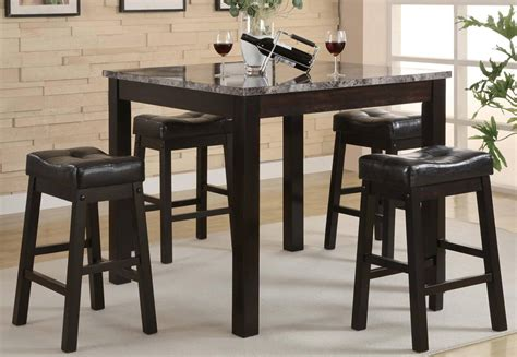 coaster broadway 5 square counter height dining set 150094 at homelement