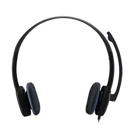 Headset Logitech H 110 Stereo Garansi 1 Tahun jual logitech h151 headset hitam harga kualitas terjamin blibli