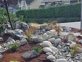 River Rock Landscaping Island Pacific Landscaping