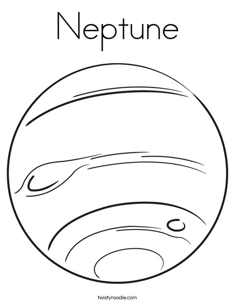 coloring pages of uranus the planet neptune coloring page twisty noodle