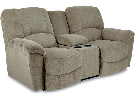 La Z Boy Living Room Reclining Loveseat 490537 Hickory