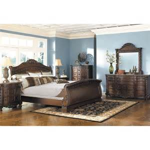 bedroom collections north shore 5 piece bedroom set b553 5pcset ashley b553