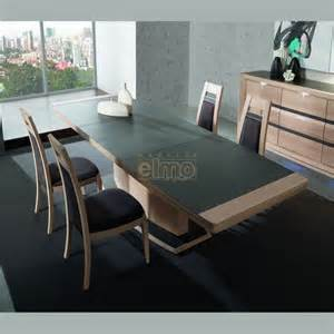table contemporaine extensible ch 234 ne plateau c 233 ramique 10
