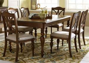 rectangular dining room sets liberty furniture summer house iii 7 piece 78x40