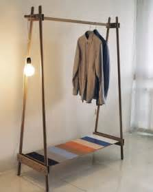 Diy Hanging Clothes Rack by