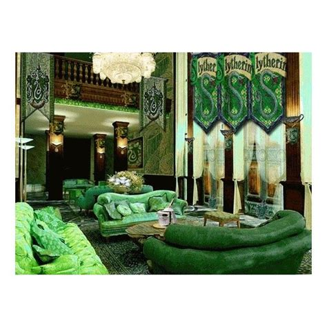 slytherin bedroom slytherin common room liked on polyvore featuring harry