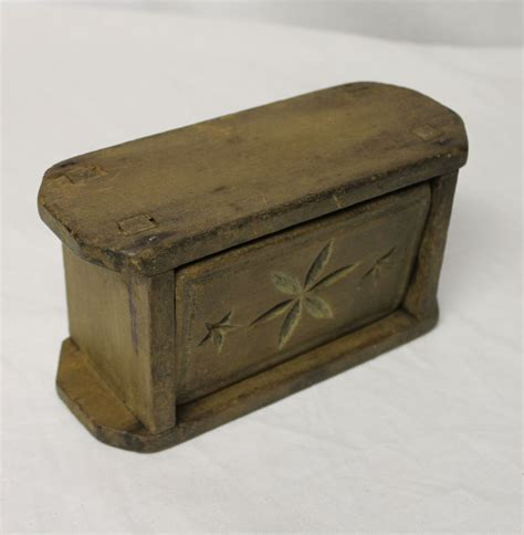 kitchen collectibles bargain s antiques 187 archive antique made unique wooden rectangular butter mold