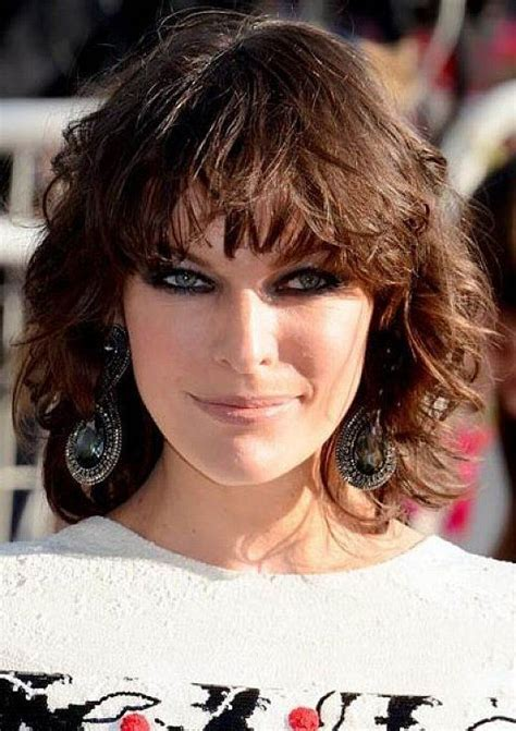 wavy hair blunt bottomed bob 98 best images about milla on pinterest models curly