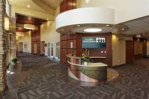 interiors receptions and desks on