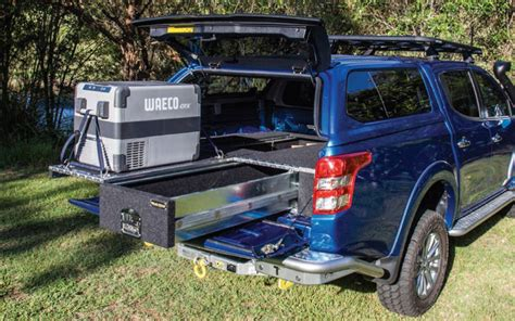 black widow awning vehicle drawers offroad systems 4wd storage solutions