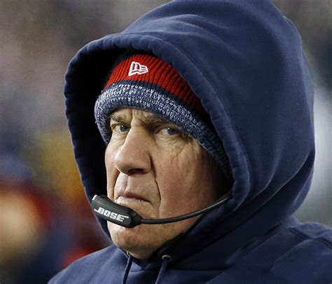 patriots couch patriots coach bill belichick knows his football the