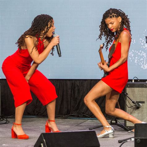 chloe and halle bailey feet sxsw 2016 michelle obama and let girls learn artist