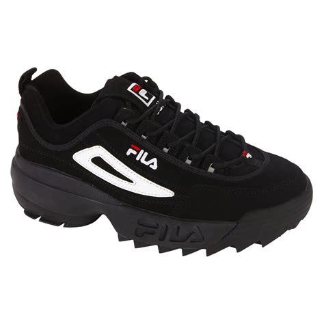 fila boy s sneaker disruptor ii black white shop your