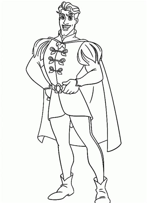 Handsome Prince Coloring Pages handsome prince coloring pages coloring home