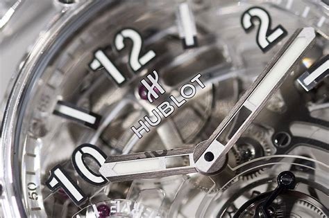 Hublot Transparan transparent from hublot big tourbillon power
