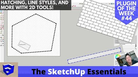 layout sketchup hatch sketchup hatching lineweights line styles and more with