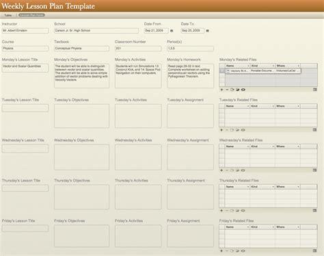 lesson plan templates new calendar template site