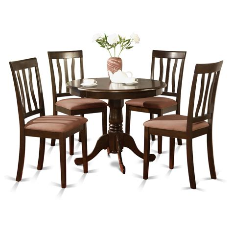 5 pc dining set with bench 5 pc kitchen table set kitchen table and 4 dining chairs