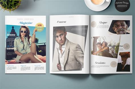 50 Indesign Templates Every Designer Should Own Lifestyle Templates