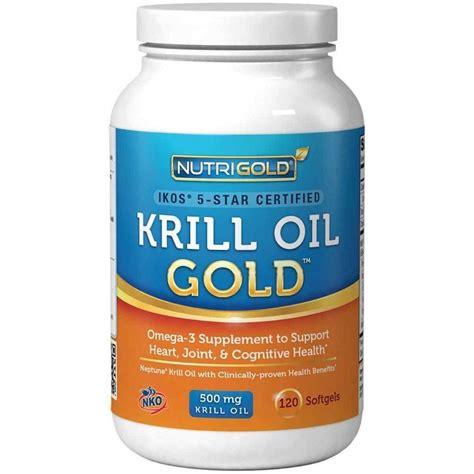 Suplemen Krill Buy Nutrigold Krill Omega 3 Supplement Krill Gold 500