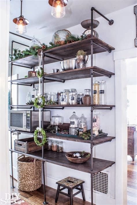 blomma kitchen storage open shelving